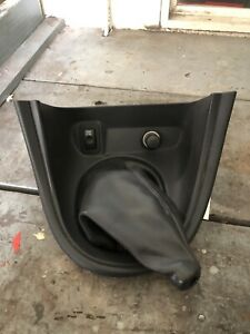 1999 Ford Mustang Saleen Leather Shift Boot With Bezel
