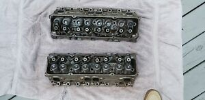1968 Small Block Chevy 350 300 Hp 3947041 Date Coded Cyl Heads Dated K8 8
