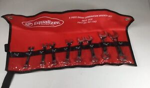 Equalizer Short Stubby 8 Pc Combination Wrench Set 11 32 3 4