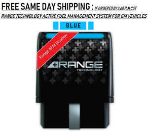 Range Technology Afm Disabler For Gm Vehicles Ra003 Blue