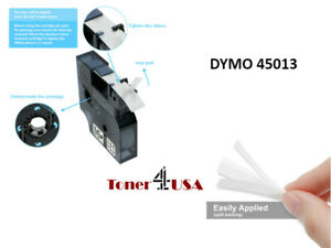 Black On White Label Tape For Dymo D1 45013 1 2 S0720530 Labelmanager 160 200