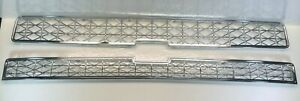 Chrome Grille Overlay For 2007 2008 2009 2010 Chevy Silverado Hd