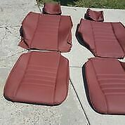 Bmw 635csi 633csi E24 Comfort Seat Rear Oem Leather Upholstery Kit Beautiful