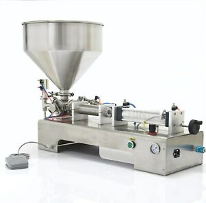 220v Filling Machine 100 1000ml For Paste And Liquid With Single Head For Cream