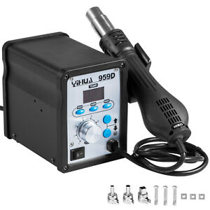 Yihua 959d Hot Air Gun Smd Soldering Desoldering Rework Station 120l min 650w