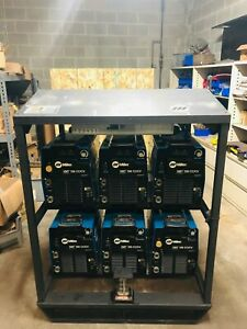 Miller Xmt 350 Cc cv 6 pack Welder 2013 Model