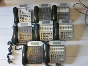 Nec Dterm Ip Office Telephone Itr 32d 3 bk display Phone Lot Of 8