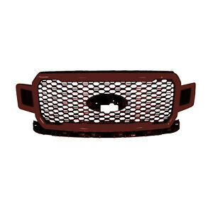Oem New 2018 2020 Ford F 150 Magma Red Black Grill Jl3z8200ps