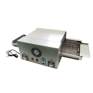 12 Commercial 220v 6 4kw Electric Pizza Sandwich Oven Conveyor