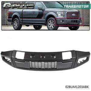 New Iron Raptor Style Front Bumper Assembly Black For Ford F150 2015 2017