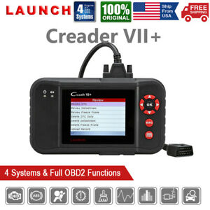 Launch Vii Automotive Obd2 Code Reader Engine Abs Srs Transmission Scan Tool Us