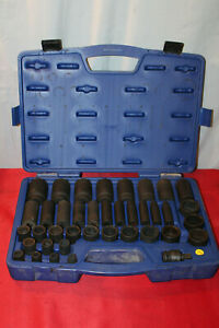Carlyle Napa 6 Point Deep Well 39 Piece Socket Set P12