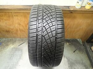 1 255 35 19 96y Continental Extreme Contact Dws 06 Tire 8 8 5 32 No Repairs 0816