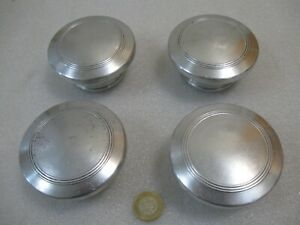 1929 1930 Plymouth Wood Wheel Hubcaps Geease Caps Model Q Model U