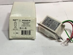 Pass Seymour Legrand Ws3000 w Passive Infrared Wall Switch