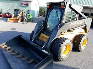 2004 New Holland Ls190 Nh Skid Steer Loader Used Only 1884 Hrs