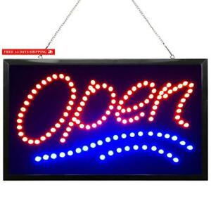 Waenlir 22x13 Inch Super Bright Large Led Open Sign For Business High Visibilit