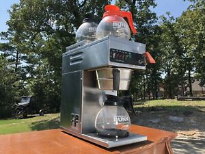 Wilbur Curtis Alpha 3x 61 Commercial Coffee Brewer With 3 Pots great Condition