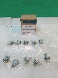 qty 10 Cutler Hammer 1 Pole Toggle Switch E10t115ap New Free Fast Shipping