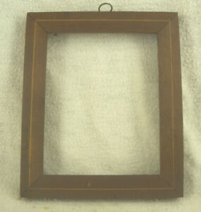Small 19th Century Antique High Quality Wood Picture Frame Aafa