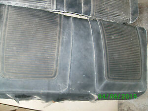 1963 1964 1965 1966 Plymouth Valiant Convertible Dart Rear Seat Back And Bottom