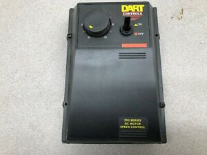 Used Dart 250 Series Dc Motor Speed Control 253g 200e