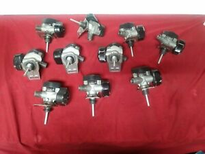 Lot Of 10 Scott Scba Cylinder And Valve Assemblies 4500 Psi Pn 804721 01 C2