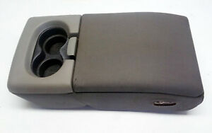 2004 2005 2006 2007 2008 Ford F150 Jump Seat Center Console Armrest Light Gray
