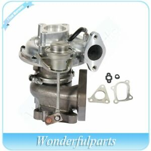 New Turbocharger Turbo Compressor Boost For 2002 Nissan Navara 2 5 Di Md22 133hp