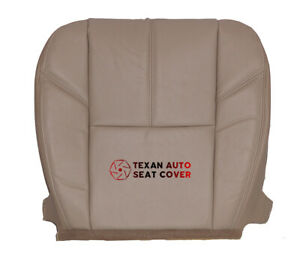 2013 Chevy Silverado 1500 Ltz Extended Cab Driver Bottom Leather Seat Cover Tan