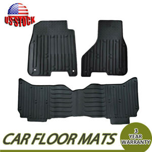 Carpet Floor Mats Liners Rubber Oem For 09 18 Dodge Ram 1500 2500 3500 4500