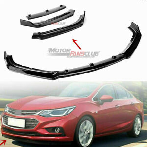Front Bumper Lip Trim Below Lip Cover Shovel For Chevrolet Cruze 2016 2017 2018