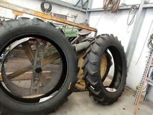 Farm Tractor Tires 12 4 X 38 6 Ply With Tubes Alliance
