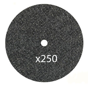 250 Pk 5 x 040 x7 8 Cut off Wheels Metal Stainless Steel Cutting Disc Type 1