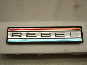 Rare Nos 70 1970 Amc Rebel The Machine Dash Emblem 390 American Motors 3614427