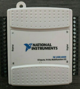 National Instruments Ni Usb 6009 Data Acquisition Card Multifunction I o Module