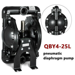 Air operated Double Diaphragm Pump Pneumatic Membrane Pump 35gpm 1 Inlet