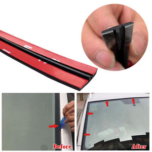 Car Rear Windshield Window Trim Edge Moulding Rubber Weatherstrip Seal Strip 3m