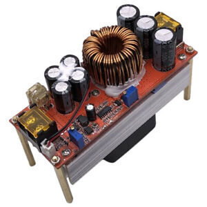 1500w Dc dc Step up Constant Voltage Adjustable Power Supply Module 30a