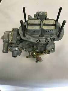 Holley 5210 1973 74 Chevy Vega 2 3l 4cyl 2v Holley Weber Carb
