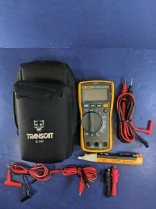 Fluke 117 Trms Multimeter Excellent Screen Protector Case Accessories