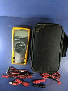 Fluke 77 Iii Multimeter Excellent Screen Protector Soft Case More