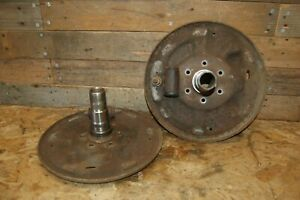 Spindal Backer Plates Closed Knuckle Hd Dana 44 Ford 1975 F250 Large Ball Axle