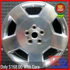 Wheel Rim Chevrolet Impala Monte Carlo 18 2006 2009 88967197 Polished Oe 5074