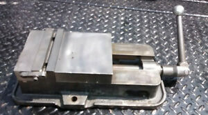 Kurt Anglock 6 Cnc Milling Machine Vise With Handle D60 Machinist Vise W Jaws