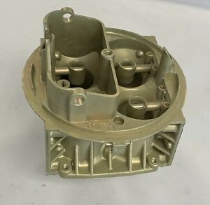 Holley 4160 4 barrel Carburetor Main Body 1850 80457 600 Cfm Vacuum Secondary