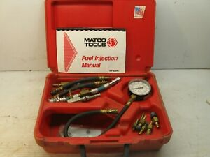 Matco Tools Basic Fuel Injection Tester Kit Fit448 Car Auto Mechanic Shop