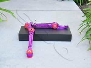 Purple Front Lower Control Arms Pair For Civic 92 95 Integra 94 01 Del Sol 93 97