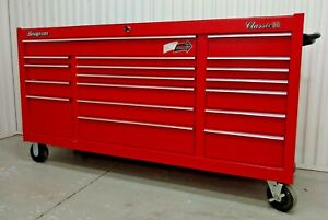Snap on Classic 96 Tool Box 18 Drawer Rolling Chest 73