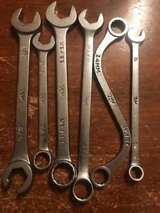 Mac Tools 5pc Mix Wrenches Usa